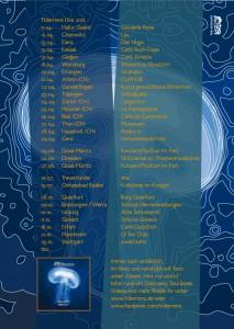 Tour-Flyer back